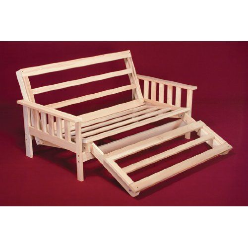 Twin Size Savannah Futon Lounger Bed