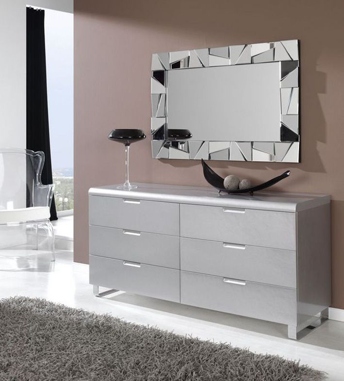 Espejos de dise o moderno altair espejos de pared for Espejos rectangulares para sala