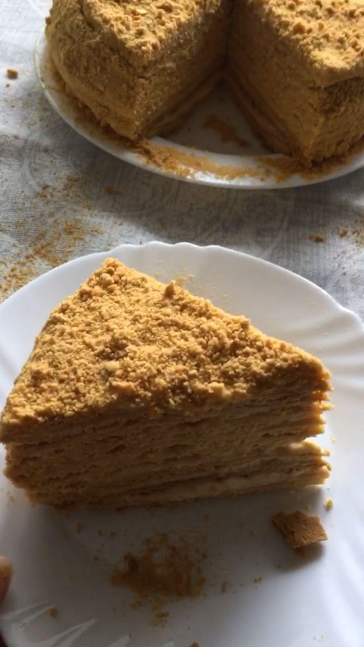 Torte Ryzhik – Rezept für beliebten russischen roten Honigkuchen