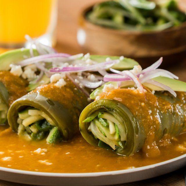 Enchiladas de Nopales Bajas en Carbohidratos