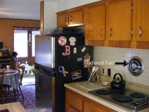 Delightful Kitchen Wall Exhaust Fan