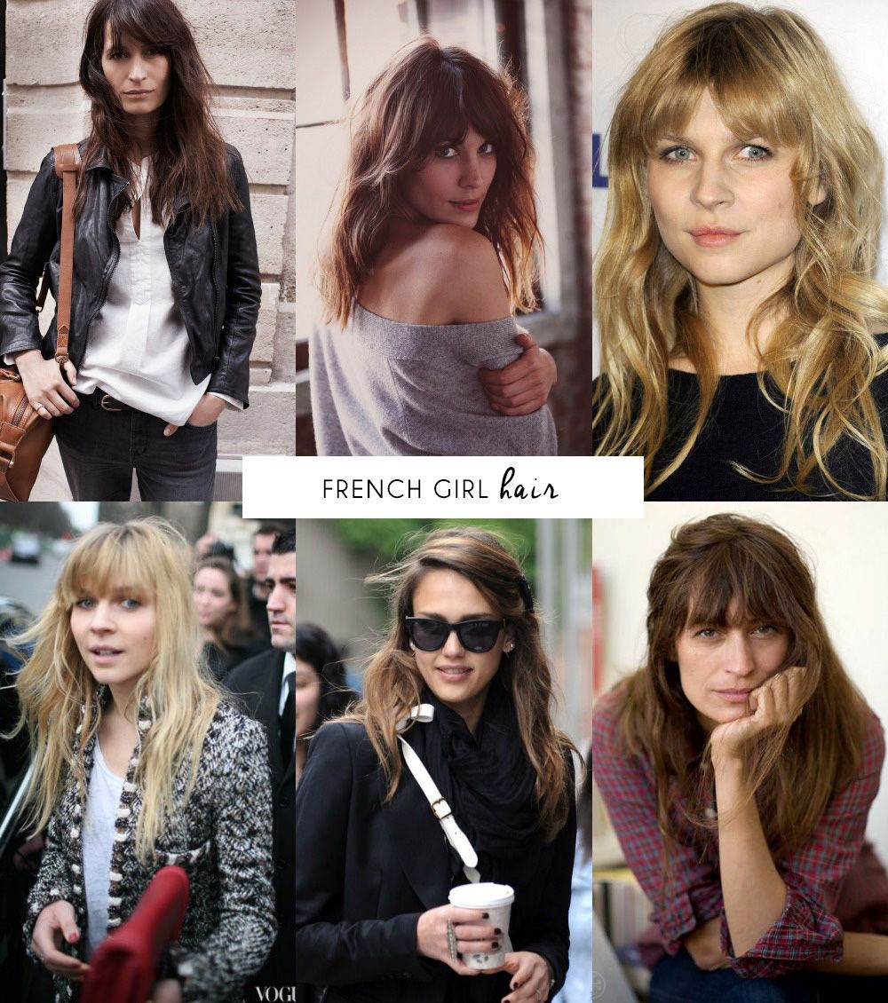 Long Hair With Bangs French Hair Hair Styles Long Hair Styles