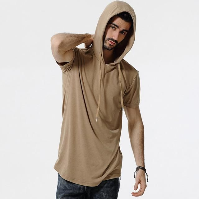 Hooded Camouflage T Shirt