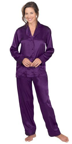 62f1ed95fe2d Fashion Bug Purple Satin  Pajamas for Women Plus Size www.fashionbug ...
