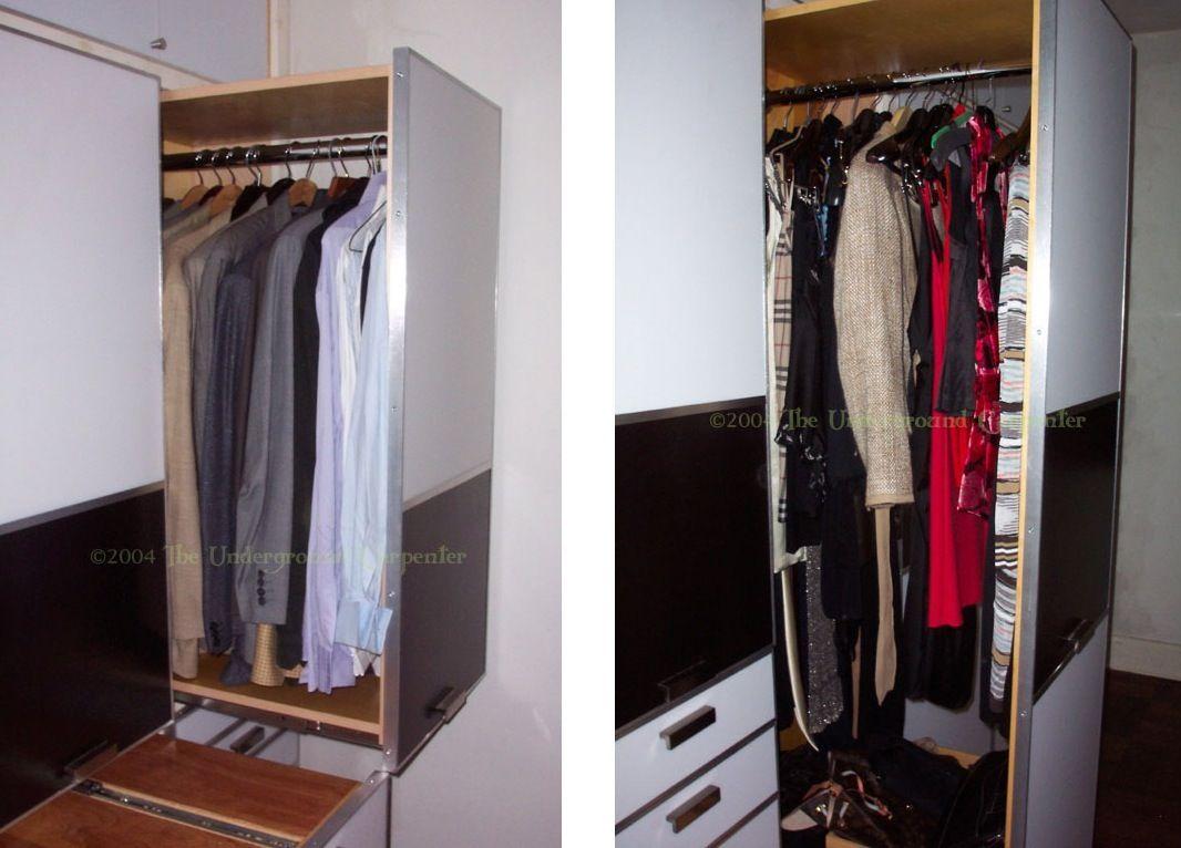Pull Out Closet Hanging Drawers Closet Rod Wardrobe Closet