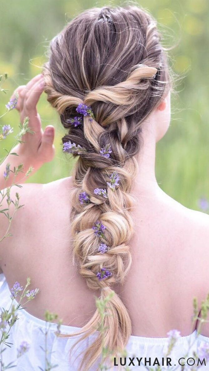 Cute & Messy Braid #messybraids