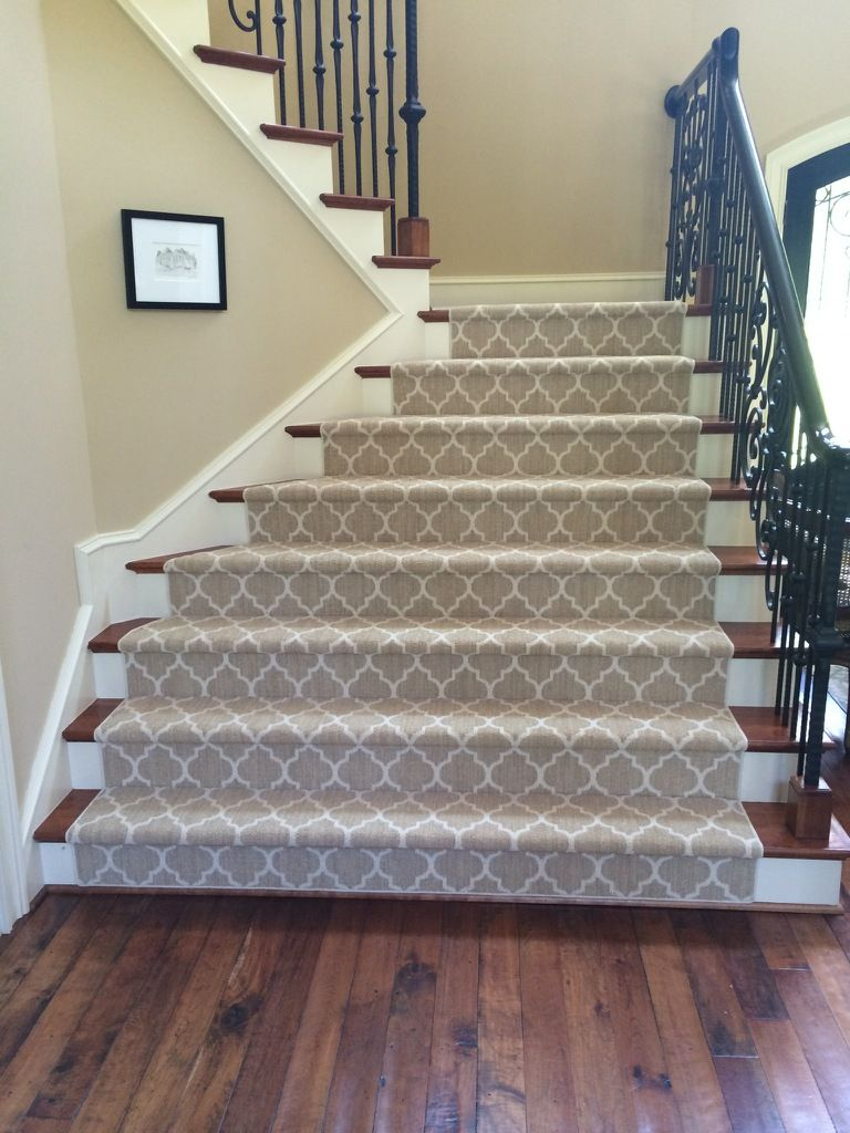 Taza Carpet Looks Great On The Stairs Tuftex Carpets Of California Stair Runner Carpet Carpet Stairs Patterned Stair Carpet