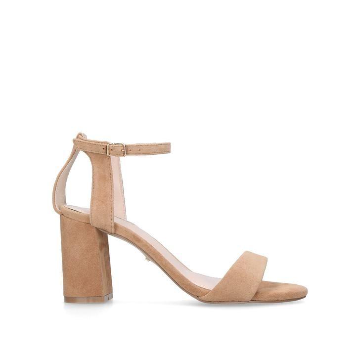 cda70f916c4 Shop GIGI Camel Mid Heel Sandals by CARVELA KURT GEIGER at official Kurt  Geiger Site.