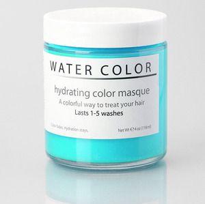 Watercolor Hair Masque Watercolour Hair Hair Masque Hair Color