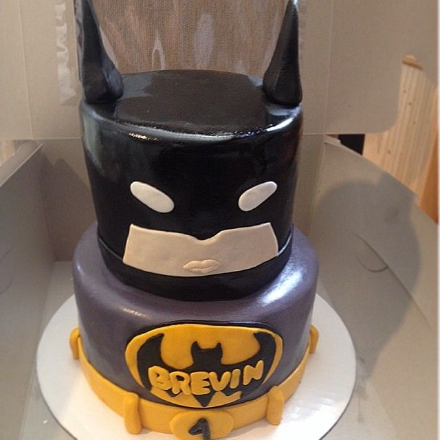 Batman Cake Batman Cake Custom Kids Birthday Party Superhero Dccomica