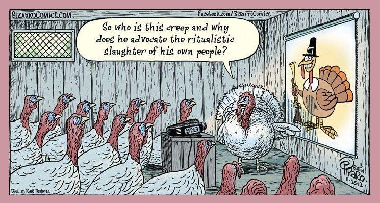 Vegan Comic Strip Vegan Thanksgiving