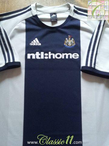 timeless design 31ba4 e4af2 2002/03 Newcastle United Away Football Shirt (XL) | Sports ...