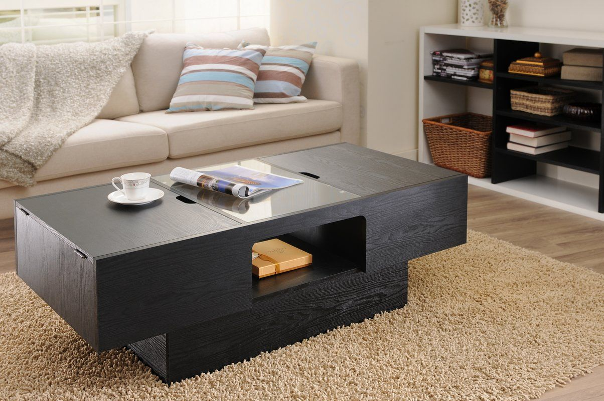 Moyle Coffee Table With Storage With Images Coffee Table