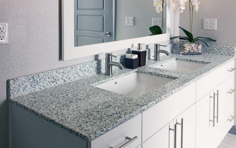 Hebron 121 Recycled Glass Countertops Glass Countertops Glass
