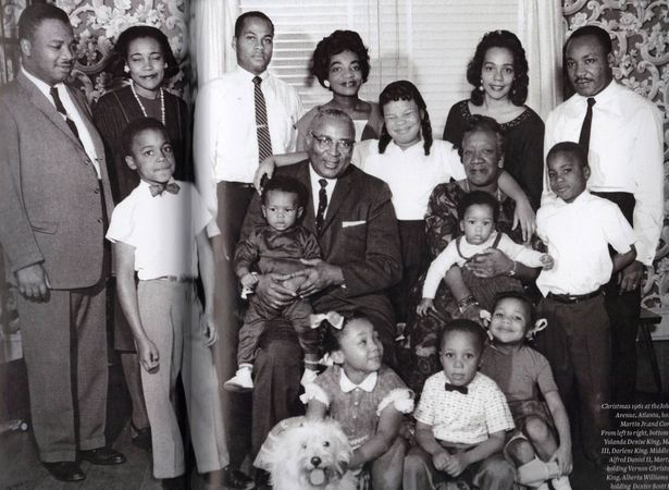 Martin Luther King Jr Family Google Search Remembering Dr King