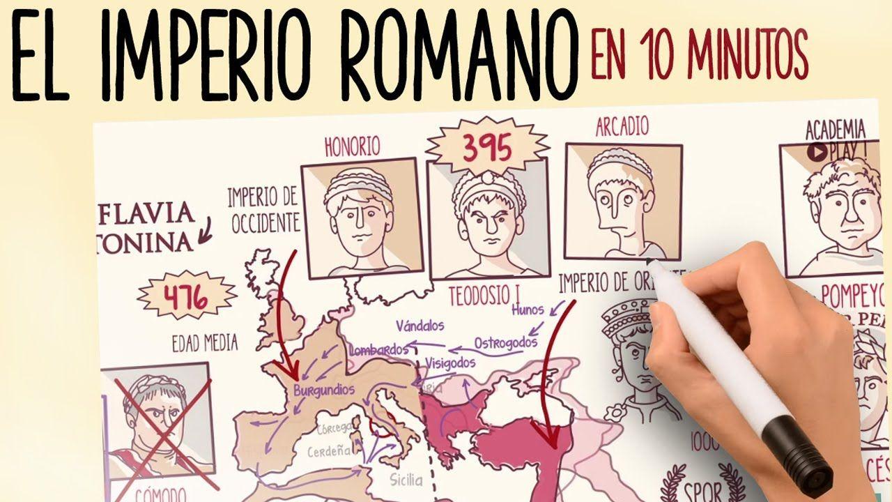 El Imperio Romano Imperio Romano Imperio De Roma Romanos