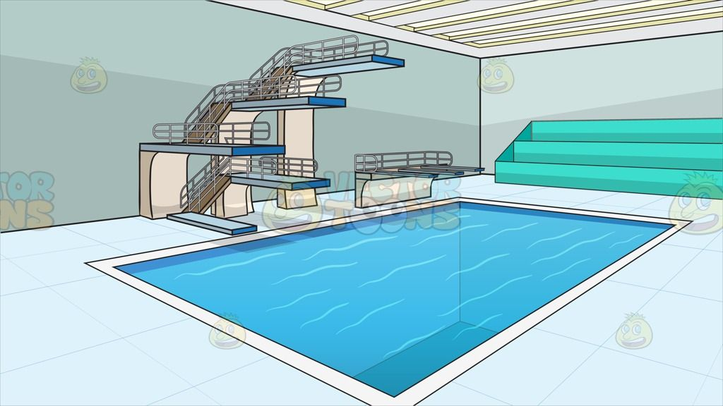 indoor olympic style diving pool background - Olympic Swimming Pool Background