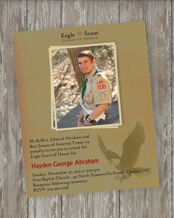 Eagle Scout Court Of Honor Invitations Vintage Scout Etsy Eagle Scout Eagle Scout Ceremony Boy Scouts Eagle