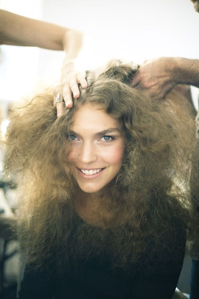 Looks Familiar Combed Out Natural Curly Hair This Is