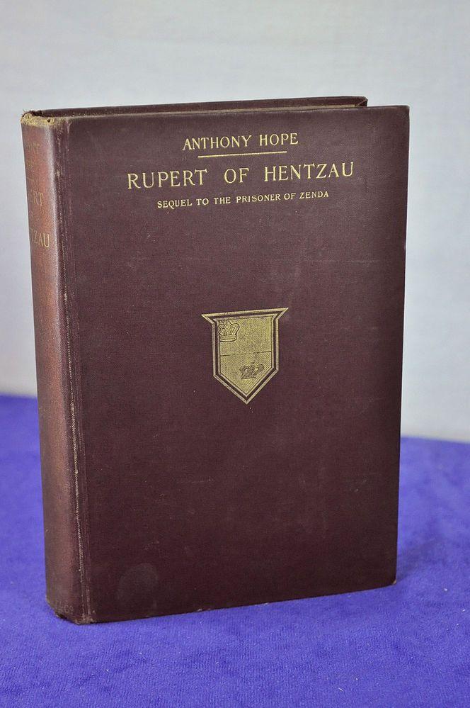 Book: Rupert of Hentzau by Anthony Hope 1898 w Charles Dana Gibson Illustrations