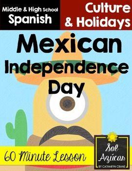 Mexican Independence Day Lesson - Día de la independencia