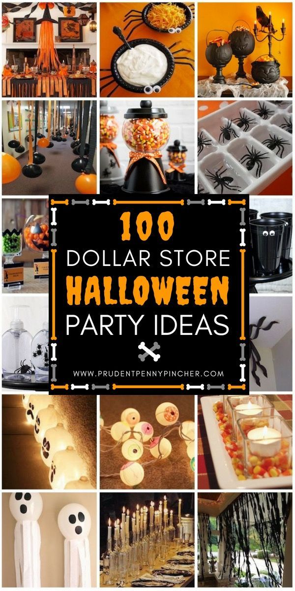 100 Dollar Store Halloween Decorations