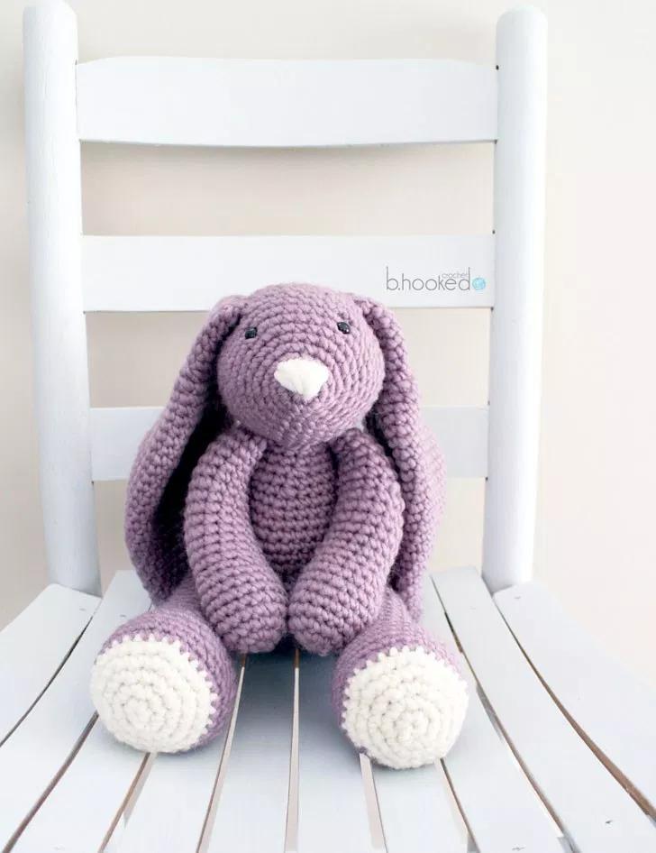 Layla Crochet Bunny - Free Pattern - B.hooked Crochet