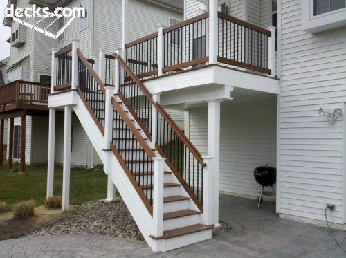 Best High Elevation Deck Picture Gallery Darker Treads And 400 x 300