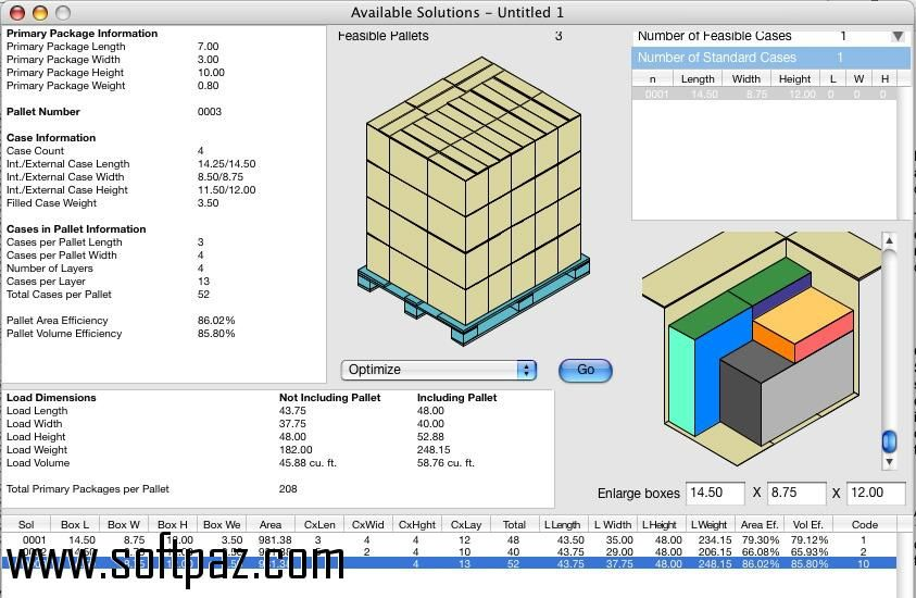 Get the Quick Pallet Maker software for windows for free