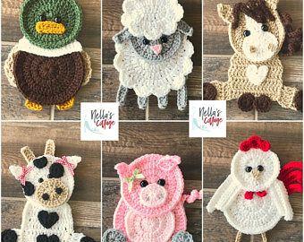 Crochet Zoo Animals – Zoo Animal Patterns – INSTANT PDF DOWNLOAD – Crochet Zoo Animal Patterns – Elephant Pattern – Lion Pattern – Giraffe
