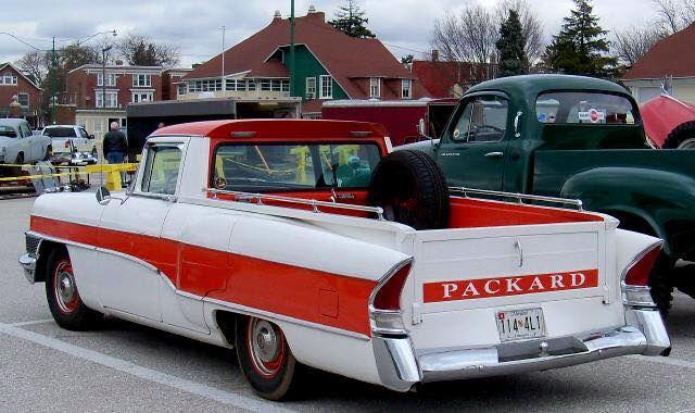 1956 Packard Clipper Wagon Pickup Classic Cars Trucks Packard Cars Classic Cars Vintage