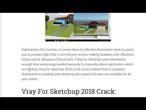 vray 3 4 for sketchup 2019