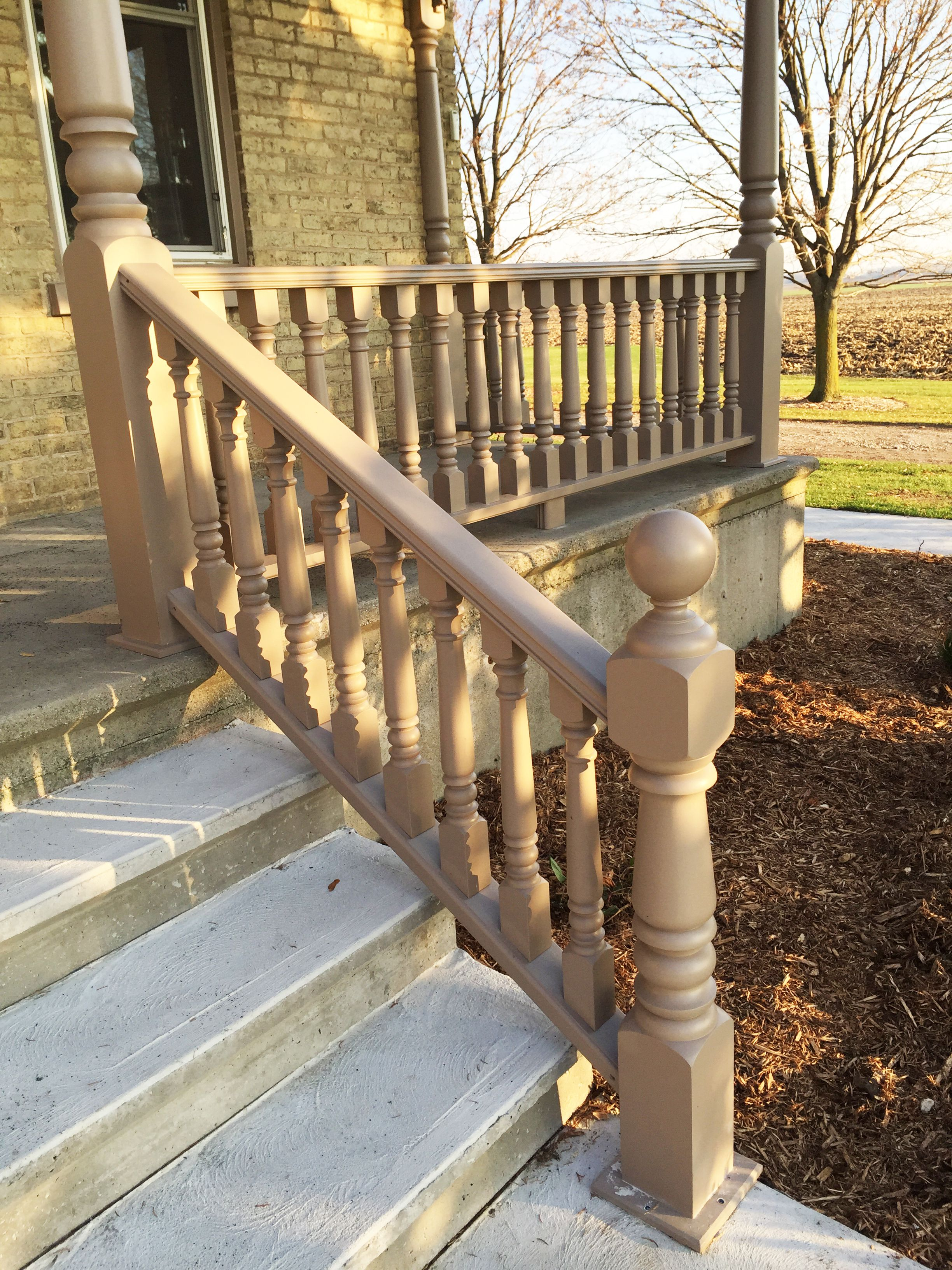 Best Finished Photo Of A Newel Post That We Turned Along With 400 x 300