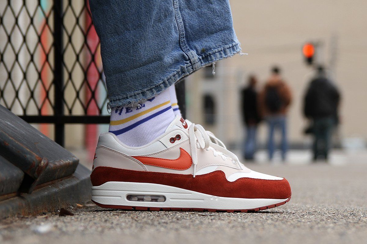 separation shoes f43af 8aade Nike Air Max 1 in Vintage Coral Mars Stone - EU Kicks  Sneaker Magazine