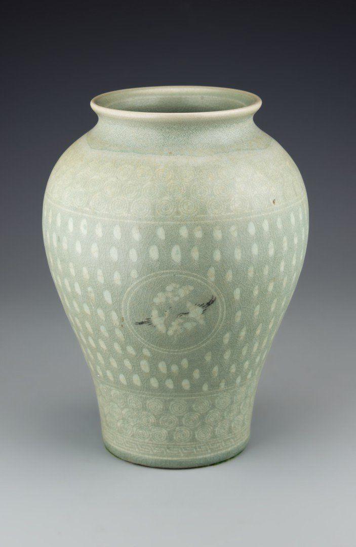 A Korean Celadon Vase On Pinterest Head Shapes Korean And