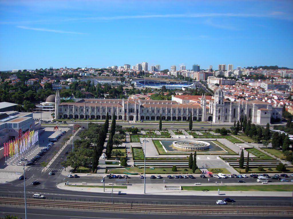 Lisboa - PT - Mosteiro dos Jerônimos - Praça do Império