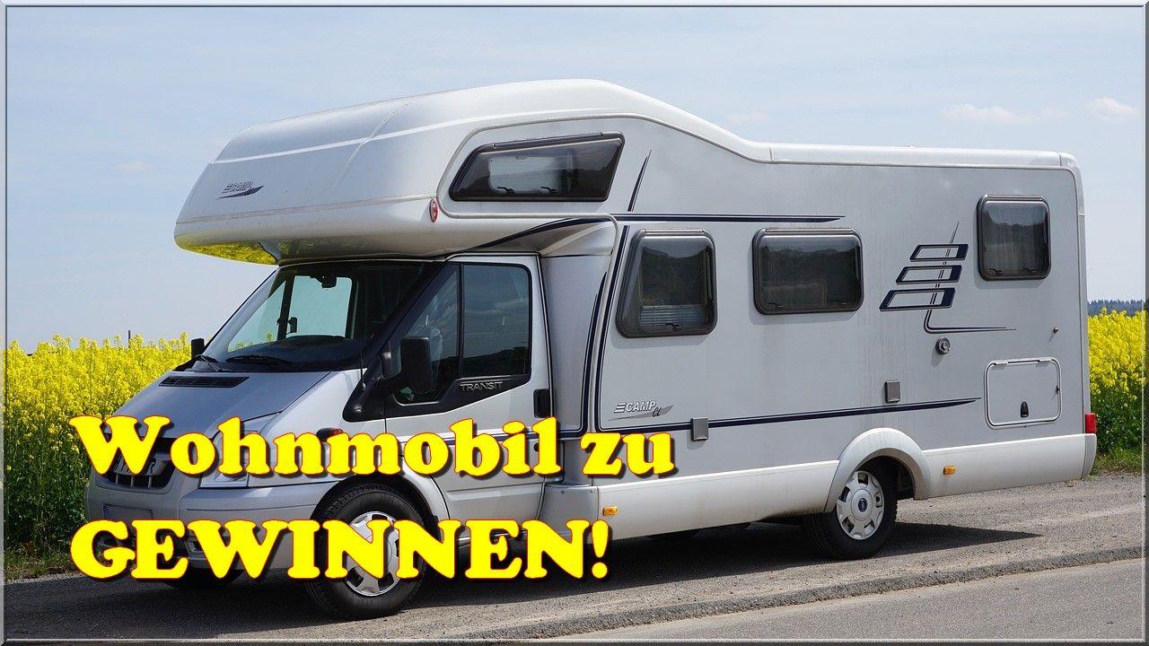 🚙Wohnmobil zu #GEWINNEN!  Auto gewinnen, Gewinnspiel, Wohnmobil