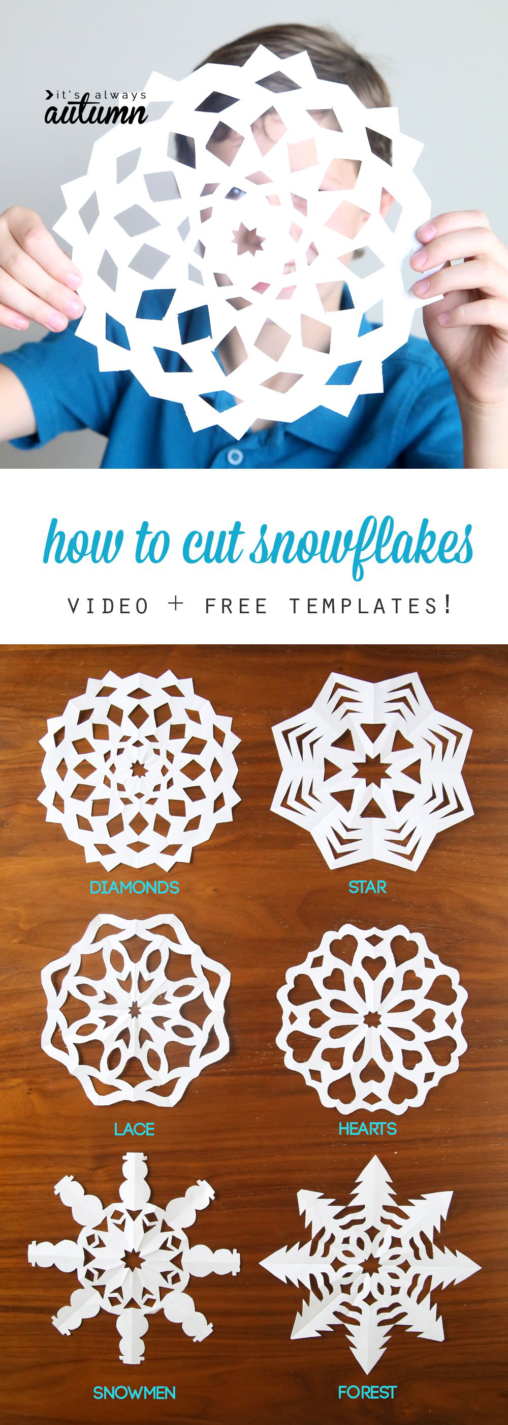 Cutting Out Snowflakes Is One Of Our Favorite Holiday Traditions