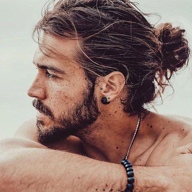 23 Beste Männer Frisuren Lange Haare in 2020 | Lange haare ...