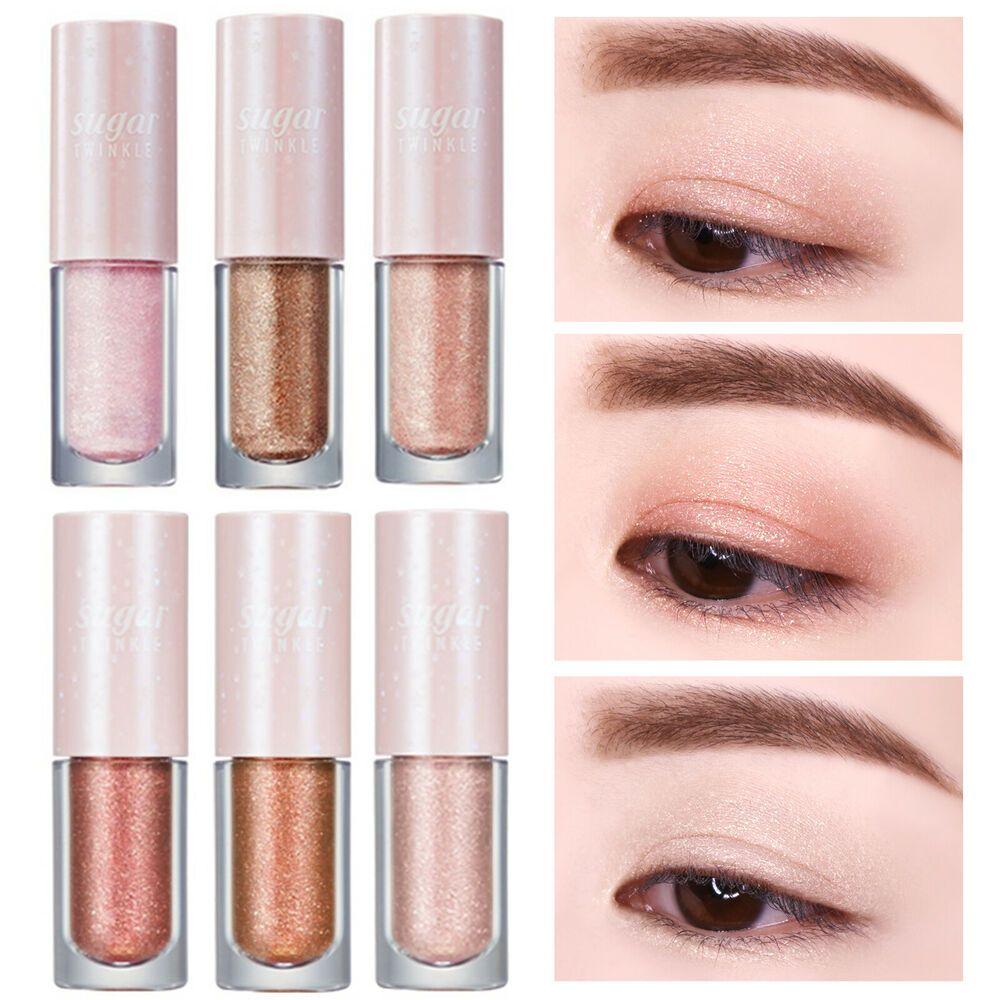 PeriPera Sugar Twinkle Liquid Shadow 6 colors EyeShadow