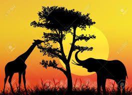 bildergebnis f r afrika landschaft schablonen afrika pinterest afrika leinwandbilder. Black Bedroom Furniture Sets. Home Design Ideas