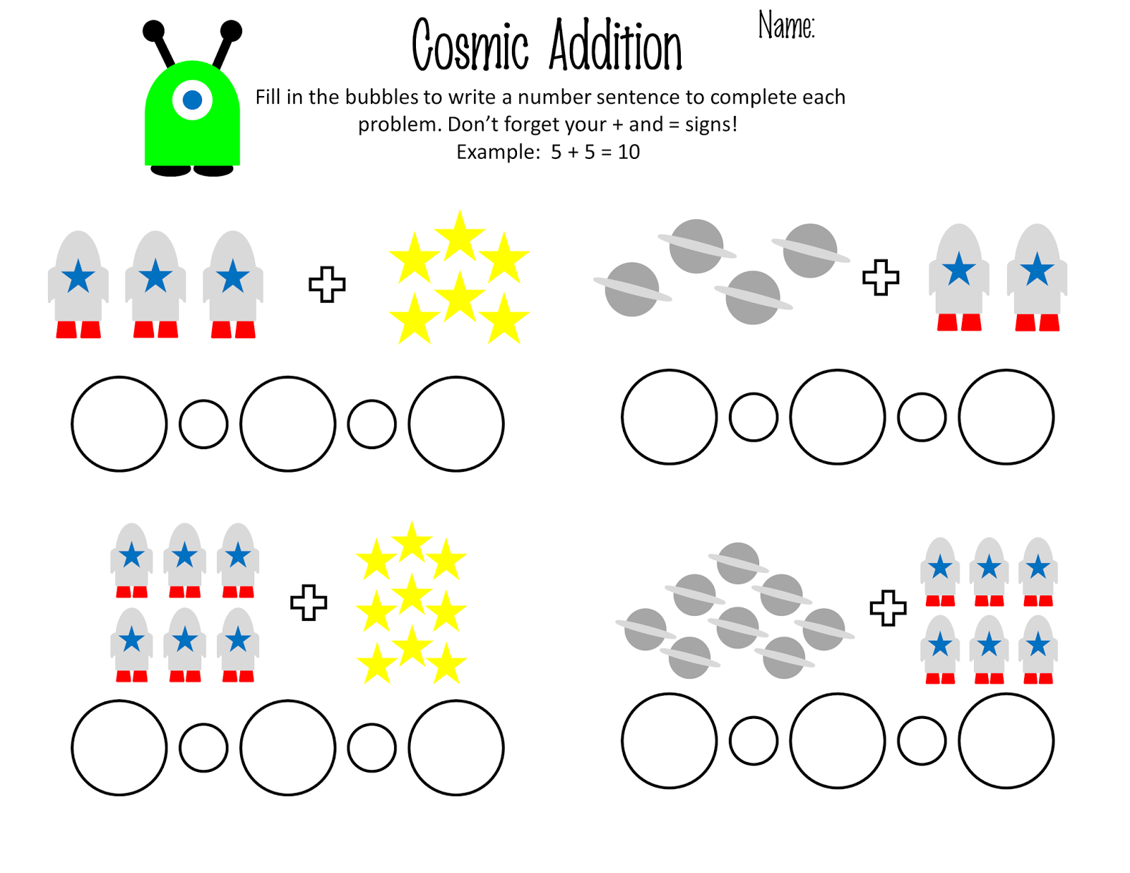 1st Grade Cosmic Addition Practice First Grade Math Worksheets Math Worksheets Grade 6 Math Worksheets [ 1236 x 1600 Pixel ]