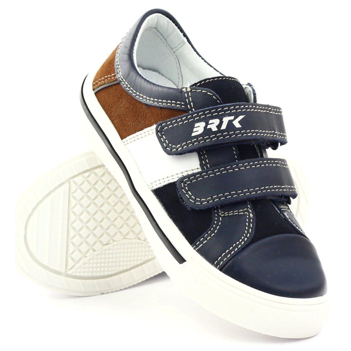 Polbuty Chlopiece Bartek 15607 Granatowe Wielokolorowe Brazowe Biale Boys Shoes Childrens Shoes Shoes