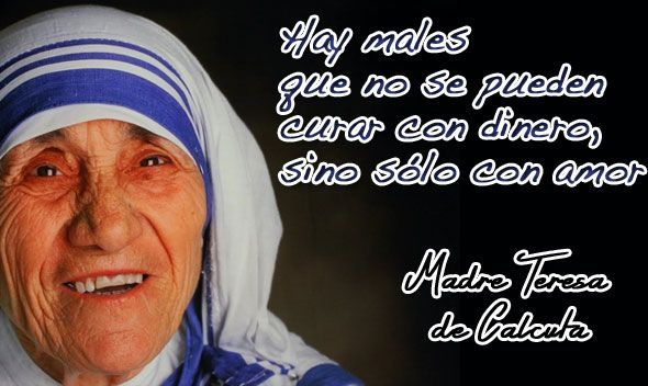 Frases Solidaridad Madre Teresa Buscar Con Google Quotes Poems