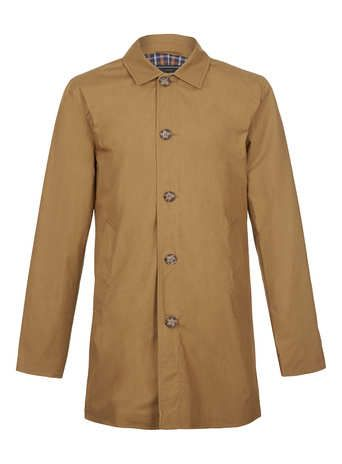 topman single breasted mac jacket