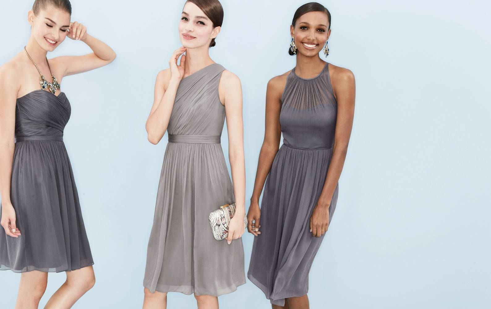 JCrew Smoky Charcoal  Wedding and Events  Bridesmaid
