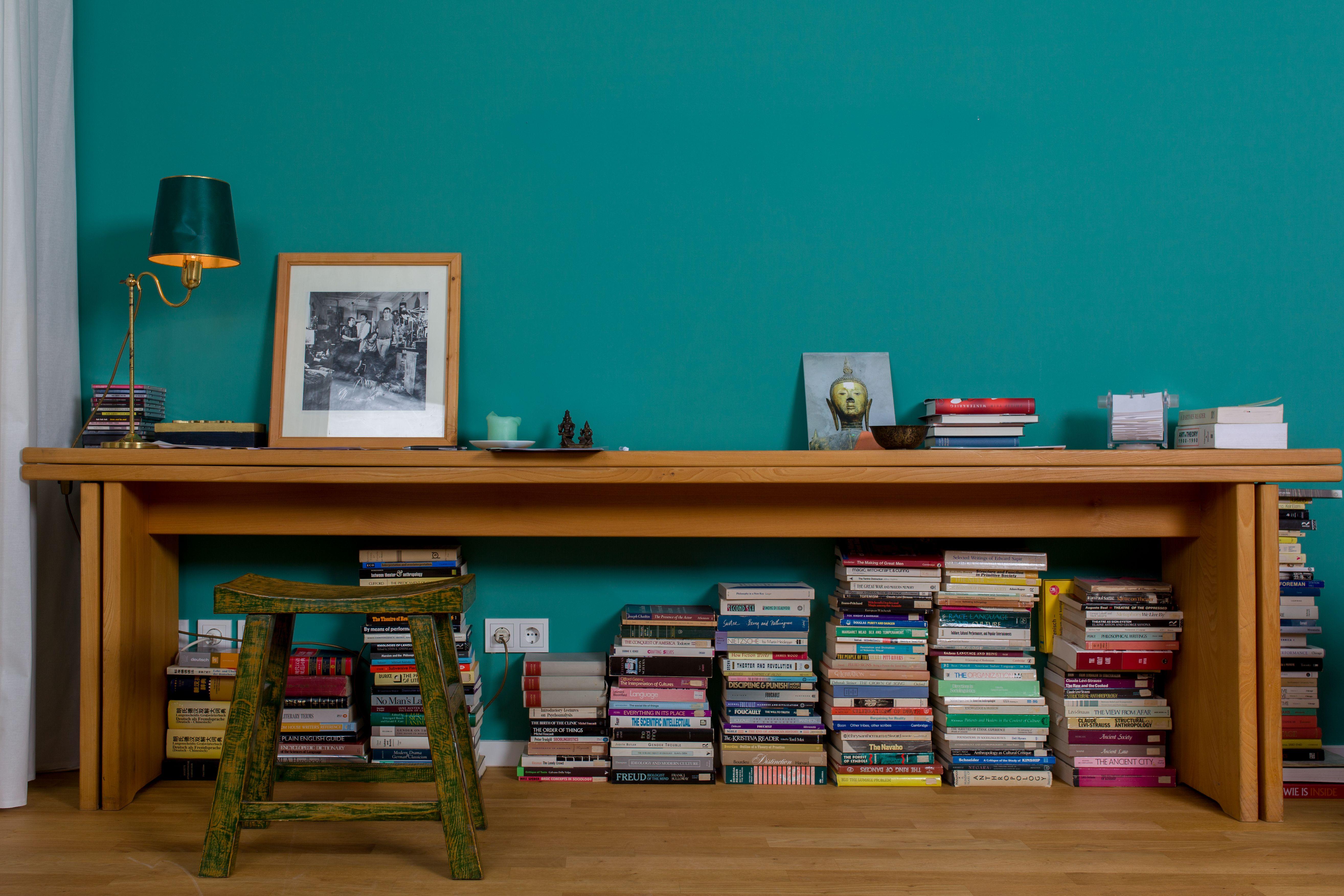Wandfarbe Arbeitszimmer ~ Arbeitszimmer in ´esmeralda´. boho style : ! wandfarben in aqua