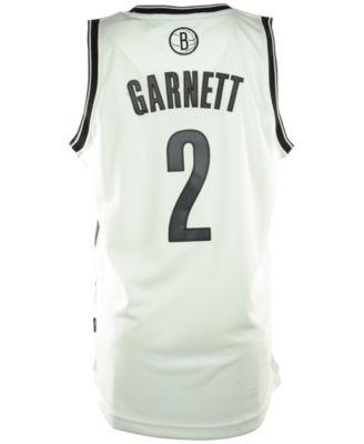 adidas Men's Kevin Garnett Brooklyn Nets Revolution 30 Swingman Jersey