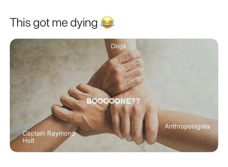 Boooooonee Brooklynninenine Scary Terry Deep Memes Fandom Funny