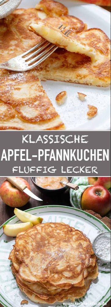 Apfelpfannkuchen klassisch und fluffig – emmikochteinfach